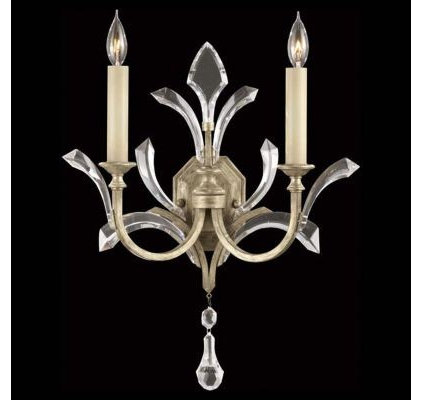 Wall Lighting Beveled Arcs 701850 Wall Sconce by Fine Art Lamps