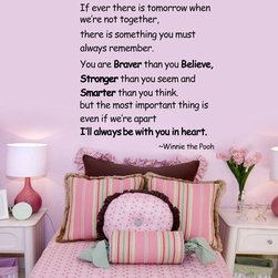 ColorfulHall Co., LTD - Wall Decals for Nursery I'll Always Be With You in Heart - Wall Decals for Nursery I'll Always Be With You in Heart
