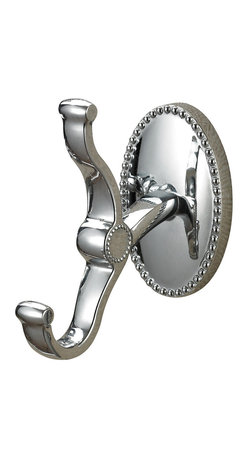 Sterling Industries - Bathroom Robe Hook in Chrome - This Bathroom Hardware from the Robe Hook collection by Sterling will enhance your home with a perfect mix of form and function. The features include a Chrome finish applied by experts.
