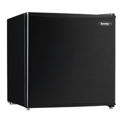 Danby - 1.7 Cu. Ft. Compact Refrigerator - Black - -1.7 cu. ft. (48.1 L) black compact countertop fridge