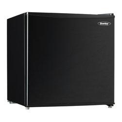 Danby - 1.7 Cu. Ft. Compact Refrigerator - Black - -1.7 cu. ft. (48.1 L) black compact countertop fridge