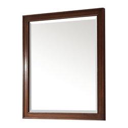 Avanity - Avanity Brentwood Mirror New Walnut - Beveled mirror