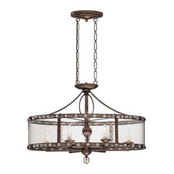 Savoy House - Savoy House 7-6035-6-131 Paragon 6 Light Trestle - Paragon is an exciting bejeweled collection by Brian Thomas. This head-turning group is stunning, with a rich Gilded Bronze finish that glistens against Water glass and faceted cystals.