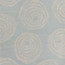 "Surya - Surya Decorativa DCR-4009 (Light Grey) 3'3"" x 5'3"" Rug - This Hand Tufted rug would make a great addition to any room in the house. The plush feel and durability of this rug will make it a must for your home. Free Shipping - Quick Delivery - Satisfaction Guaranteed"