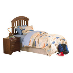 Standard Furniture - Standard Furniture Parker 5-Piece Kids Headboard Bedroom Set - Parker bedroom offers the perfect solution for rooms that have a smaller footprint, yet still need lots of storage.