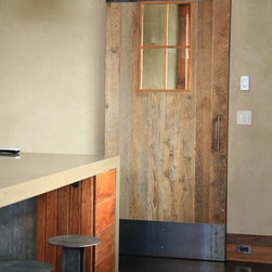Reclaimed Lumber Barndoor -