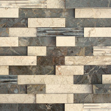 Contemporary Tile by aZura Stoneworks