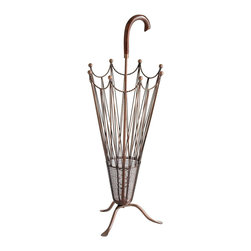 Umbrella Stand - I really like this wrought iron umbrella stand from Pier 1, and I think it would be a unique gift to give a teacher for the classroom.