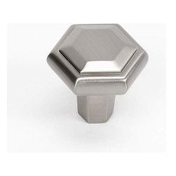 Alno Inc. - Alno Creations 1 1/2 Inch Knob Satin Nickel A424-Sn - Alno Creations 1 1/2 Inch Knob Satin Nickel A424-Sn