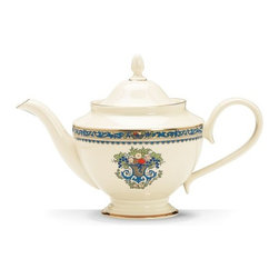 Autumn Teapot - We think this teapot is the perfect combination of historic and contemporary. It would blend right into the surroundings of Downton Abbey, and yet it has a modern design.