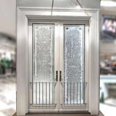 Contemporary Front Doors by Les Entreprises Marchand