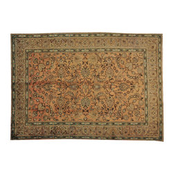 1800GetARug - Exc Cond Semi Antique Persian Tabriz Soft Colors Hand Knotted Rug Sh15846 - Oriental rugs are famously known to gain more value over time. An authentic Antique or Semi-Antique hand knotted rug is not only an instant centerpiece in any setting, but is a wonderful investment which only increases over the years. This collection features rare and valuable authentic hand-knotted area rugs from all over the world at exclusive discount prices.
