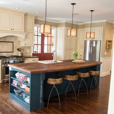 Traditional Kitchen by Duet Design Group