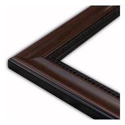 The Frame Guys - Modern Mahogany Black with Bead Picture Frame-Solid Wood, 10x10 - *Modern Mahogany Black with Bead Picture Frame-Solid Wood, 10x10