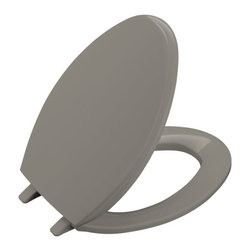 KOHLER - KOHLER K-4684-K4 Glenbury Elongated Toilet Seat - KOHLER K-4684-K4 Glenbury Elongated Toilet Seat in Cashmere