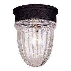 Savoy House - Savoy House Kp-5-4901C-31 Exterior Collections Jelly Jar Flush Mount - Savoy House KP-5-4901C-31 Exterior Collections Jelly Jar Flush Mount