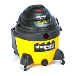 Shop Vac - Right Stuff 16-Gallon Wet Dry Vacuum - Right Stuff 16 gallon wet / dry vac 6.25 peak HP 12Ft hose Ultra web cartridge filter high eff drywall bag.