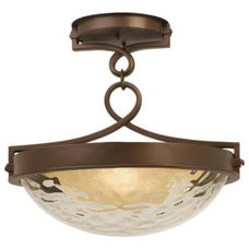 Bathroom Vanity Lighting Newport Semi-Flushmount by Kalco Lighting