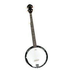 Orleans 5 String Banjo - Enjoy the tone and quality of the Orleans 5 String Banjo. This full-sized instrument features a sapele body and neck with rosewood fingerboard and glossy brown finish. Its full neck offers 22 frets and accommodates five strings. Pick the day away and learn all the intricate techniques with this fun banjo. It comes complete with gig bag and shoulder strap. About Ashley EntertainmentAshley Entertainment is the manufacturer of Spectrum brand musical instruments and is an importer and distributor of several other brands. From shipping points in the US and abroad Ashley Entertainment offers thousands of quality musical products for all levels of play. They supply a wide variety of retail outlets with multiple categories for drop ship and resale both domestic and international.