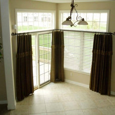 Contemporary Curtains by Bellagio Window Fashions