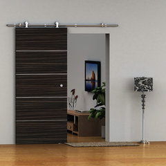 modern interior doors European Stainless steel Barn Door Hardware For Wood Door