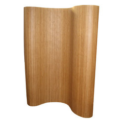 Bamboo Room Divider, Tan, 6