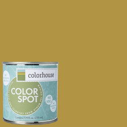 ColorSpot Eggshell Interior Paint Sample, Beeswax .06, 8-oz - Test color before you paint with the Colorhouse Colorspot 8-oz  paint sample. Made with real paint and in our most popular eggshell finish, Colorhouse paints are 100% acrylic with NO VOCs (volatile organic compounds), NO toxic fumes/HAPs-free, NO reproductive toxins, and NO chemical solvents. Our artist-crafted colors are designed to be easy backdrops for living.