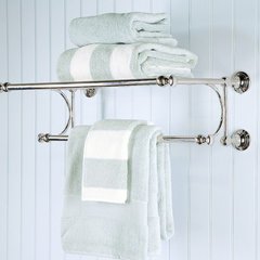 traditional towel bars and hooks by Pottery Barn