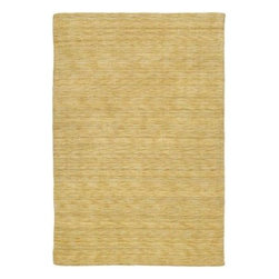 """Kaleen - Area Rug: Renaissance Butterscotch 7' 6"""" x 9' - Shop for Flooring at The Home Depot. Renaissance is a truly unique, high fashion monochromatic collection. This offers a Tibetan look along with a tradition soft back but at a non-traditional price. Regale is hand loomed in India of only the finest 100% virgin seasonal wool for years of elegant durability."""