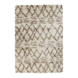 Surya - Surya Rhapsody RHA-1021 (Ivory, Hot Cocoa) 5' x 8' Rug - Understated beauty is the only way to describe the rugs in the Surya Rhapsody collection. The cool neutrals give a relaxing vibe to any space. Hand woven with wool and polyester, these rugs are ultra-soft and plush. Add a Rhapsody rug to your home and get an instant touch of sophistication.