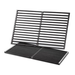 Weber 7524 Porcelain-Enamel Cast-Iron Cooking Grates for Genesis 300 Series - 2 - About Weber GrillsWeber-Stephen Products Co., headquartered in Palatine, Ill., is the premier manufacturer of charcoal and gas grills, grilling accessories, and other outdoor room products. A family-owned business for more than 50 years, Weber has grown to be a leading seller of outdoor grills worldwide.