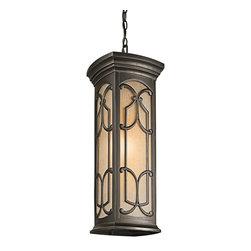 Kichler Lighting - Kichler Lighting 49231OZ Franceasi 1 Light Outdoor Pendants/Chandeliers in Olde - Outdoor Pendant 1Lt