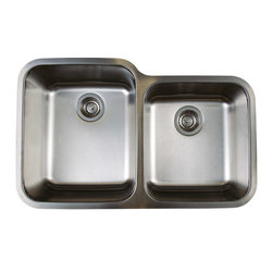 Blanco - Blanco 441023 Stainless Steel Stellar 1-3/4 Bowl - Classic styling and fine craftsmanship at an attainable price. With a Refined Brushed Finish, our most popular shapes have been designed to fit a variety of applications and cabinet sizes.