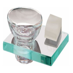 Alno Inc. - Alno Creations Manhattan Soap Holder With Dish Satin Nickel A7430-Sn - Alno Creations Manhattan Soap Holder With Dish Satin Nickel A7430-Sn
