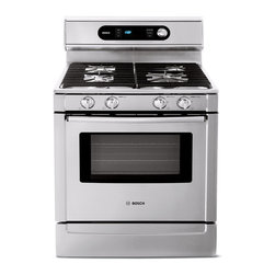 "Bosch 700 Series 30"" Gas Freestanding Range, Full Stainless 