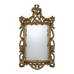 Savoy House - Valerie Mirror - Savoy House isn't just for lighting of the highest quality and best craftsmanship. This elegant mirror is another way to bring the excellence of Savoy to your home. Style: Traditional .