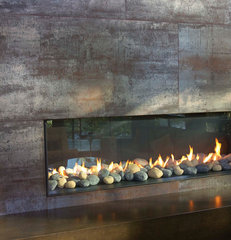 modern fireplaces by My House Design Build Team
