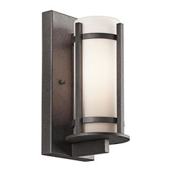 Kichler Lighting - Kichler Lighting - 49119AVIFL - Camden - One Light Outdoor Wall Mount - Wall lights and sconces have been in style since the inception of indoor lighting. Lighting a wall of a room, hallway or walkway provides a beautiful touch as well as a functional necessity. Kichler offers an incredible selection of sconces; from classic-traditional to sleek-modern and contemporary, with every style of wall light in between. Many Kichler sconces have matching chandeliers and pendants to complete the look you desire for your home.