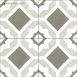Contemporary Cement Tile - Aurora Cement Tile from Cement Tile Shop