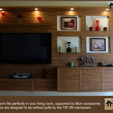 Modern Home Theater TV platform