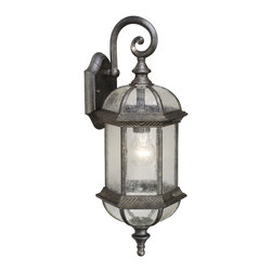 Vaxcel - Chateau Wall Sconce - Vaxcel OW39782GT Chateau Gold Stone Outdoor Wall Sconce