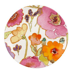 Lenox Dinnerware, Floral Fusion Coupe Accent Plate - I'd use this plate to hold all the blooms I'll collect this spring.