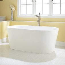 "59"" Eden Acrylic Freestanding Tub | Signature Hardware"