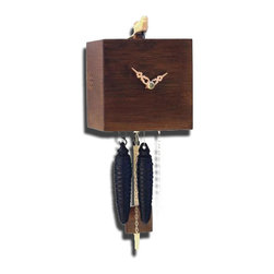 ROMBACH UND HASS - Free Birds - Bamboo Cuckoo Clock - One-Day Movement - Walnut Finish - Official Black Forest clock licensed by the VDS