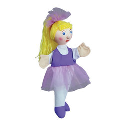 """The Original Toy Company - The Original Toy Company Kids Children Play Ballerina - Take a bow with this hand puppet. Aprox 14""""Hx 7""""W Ages 1 year plus."""
