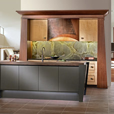 Asian Kitchen by Bareville Kitchens & Design