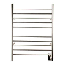 Amba Products - Amba RWH-SB Radiant Hardwired Straight Towel Warmer - Collection: Radiant