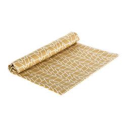 "BH Decor - Organic Sand & White Table Linen Napkins ( SET OF 4 ) - - 20"" square"