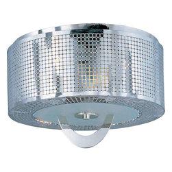 Maxim Lighting - Maxim Lighting 22300PN Mirage Modern Flush Mount Ceiling Light - Maxim Lighting 22300PN Mirage Modern Flush Mount Ceiling Light In Polished Nickel