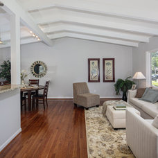 Midcentury Living Room by Classic Cottages LLC